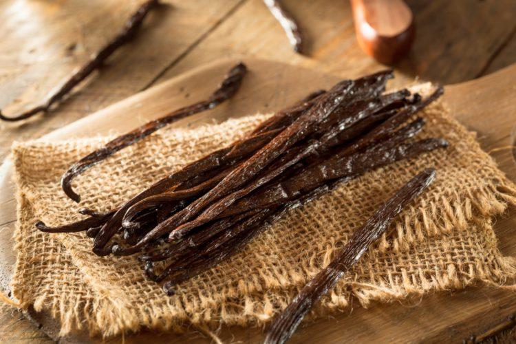 Raw Organic Vanilla Beans