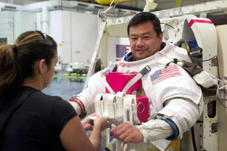 Astronaut Leroy Chiao, Expedition 10 commander and NASA space station science officer 2004