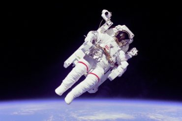 Space Shuttle - April 1983 Astronaut Bruce McCandless II, mission specialist - Photo courtesy NASA