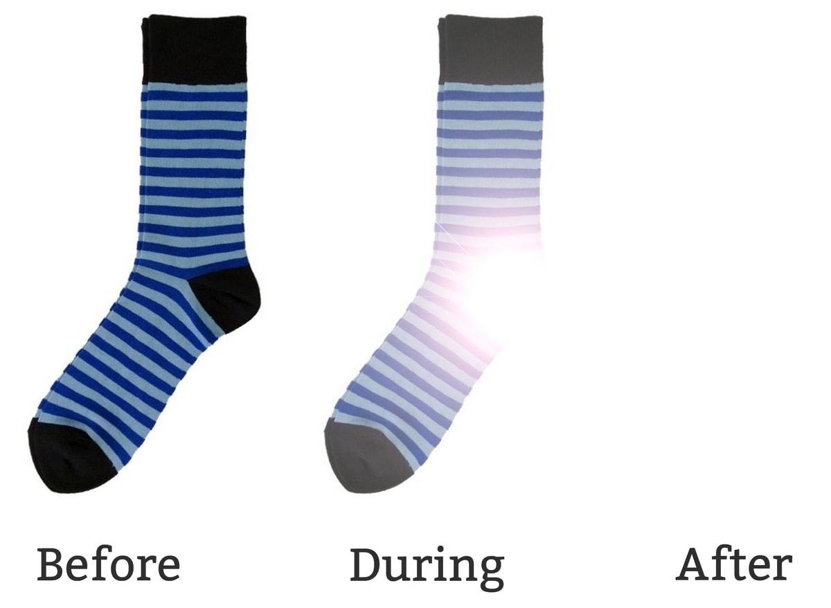 Where do missing socks go?