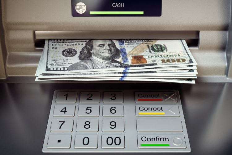 ATM and cash - Bank or credit union