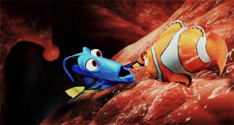 Finding Nemo - Whale throat - uvula