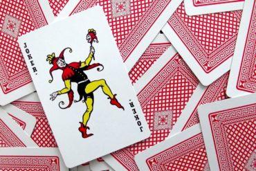 Joker playing card - April Fools Day