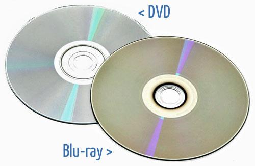 Blu ray vs dvd - College paper Sample