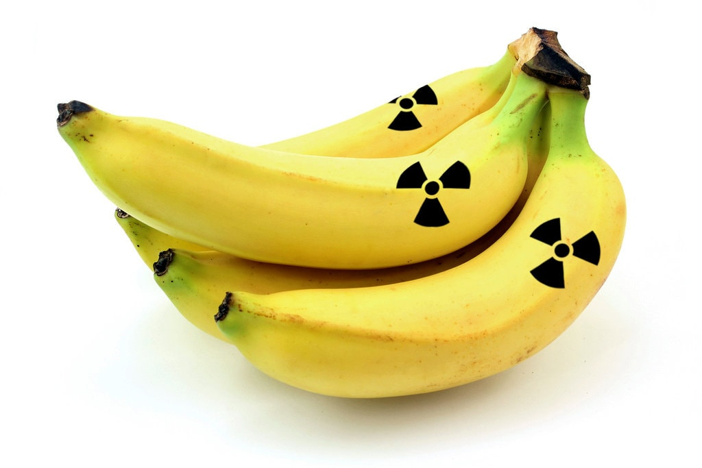 radioactive bananas