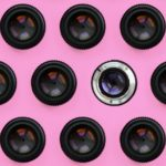 DSLR camera lenses and apertures