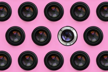 DSLR camera lenses and apertures