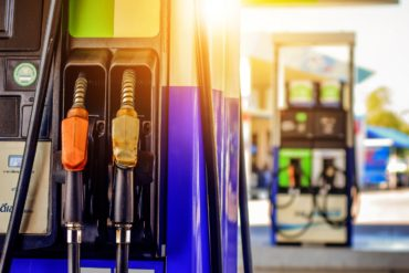 Gas station pumps - Octane gasoline choices