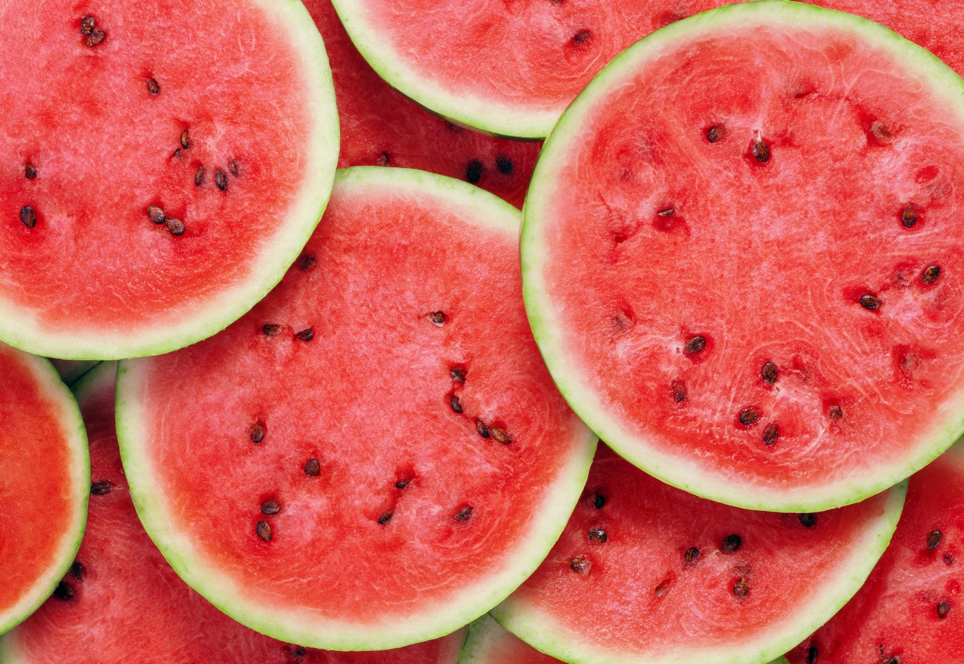 Watermelon slices - Pink with seeds