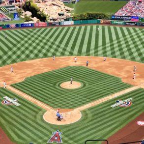 Anaheim baseball field in California - Stadium photo by kathkarno via Twenty20