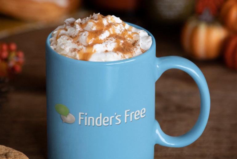 Coffee mug with hot drink