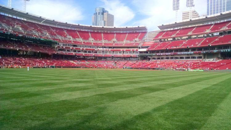 Great American Ballpark - Cincinnati Reds Baseball team Ohio - Photo by speech524 via Twenty20