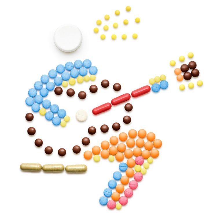 Pill people illustrations - artwork
