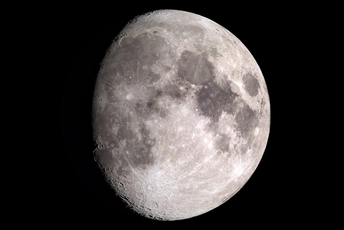 The moon - Photo by NASA - Ernie Wright