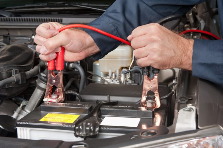 How to connect jumper cables