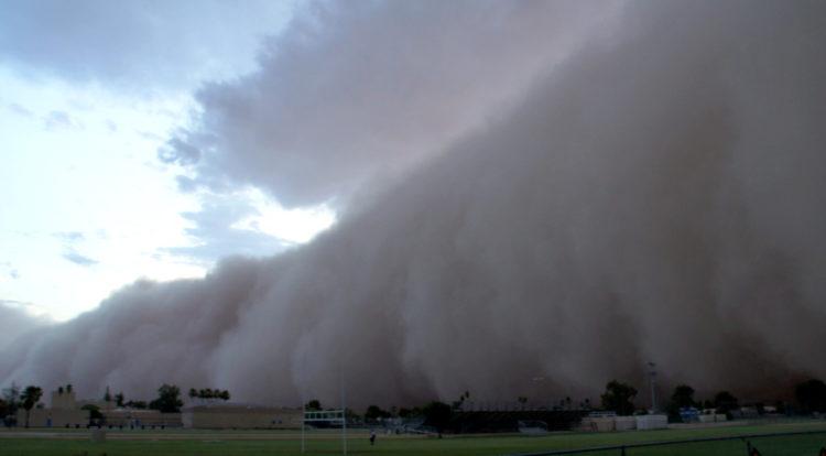 Haboob - Dust storm - Sandstorm